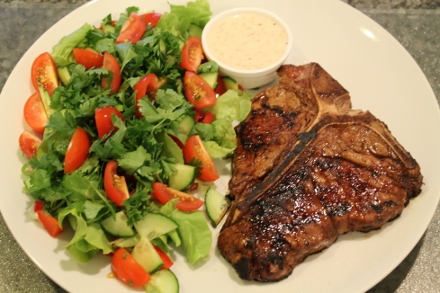 steak-and-salad